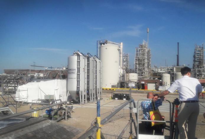 De GenX-filters op het terrein van Chemours.