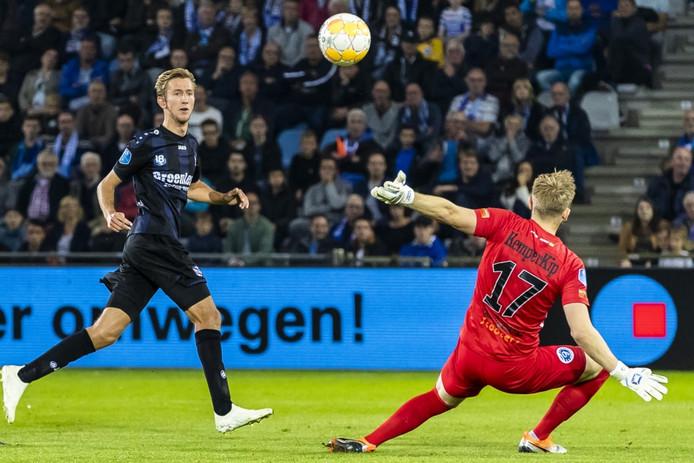 Vlap maakt de vierde Friese treffer.