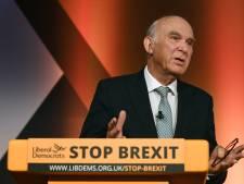 """""""Merde au Brexit"""": le slogan du parti libéral-démocrate britannique"""