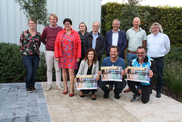 De stadstrail in Diksmuide is een verhaal van verschillende organisaties en verenigingen die samenwerken