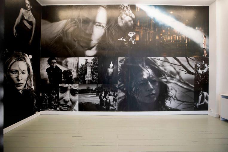 Galerie-expo met werk van Peter Lindbergh. Beeld David Samyn