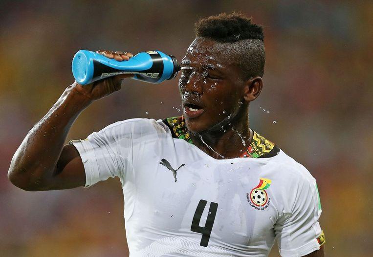 Daniel Opare kreeg een basisplaats bij Ghana. Beeld PHOTO_NEWS
