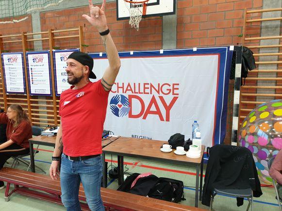 Op de Challenge Day in het kader van Rode Neuzen Dag praten de leerlingen over hun emoties.
