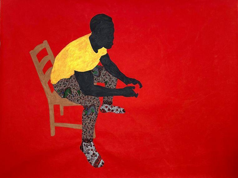 Raphael Adjetey Adjei Mayne – 'Playing Jame at John's Place' (2020), Geukens & De Vil Beeld GalleryViewer