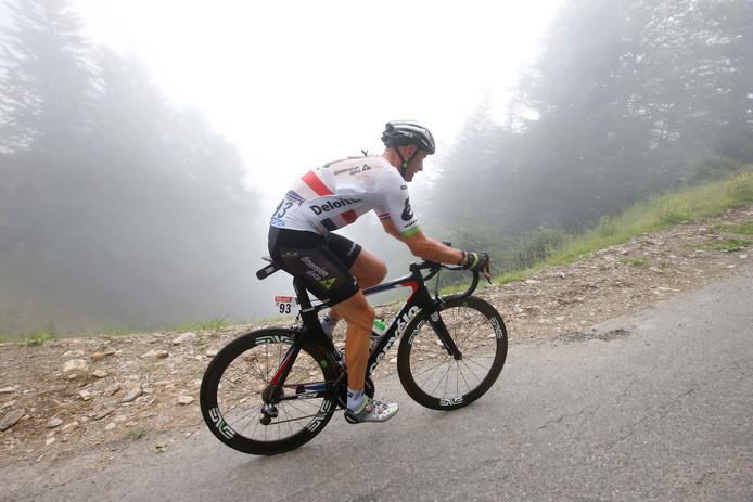 Eén van de renners die het móet doen voor Yme Drost, maar het nog niet dóet: Steve Cummings.