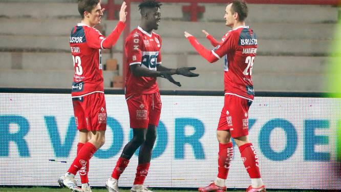 """Pape Gueye (KV Kortrijk) blij met twee goals tegen Genk: """"Nu ben ik de leider van de aanval"""""""