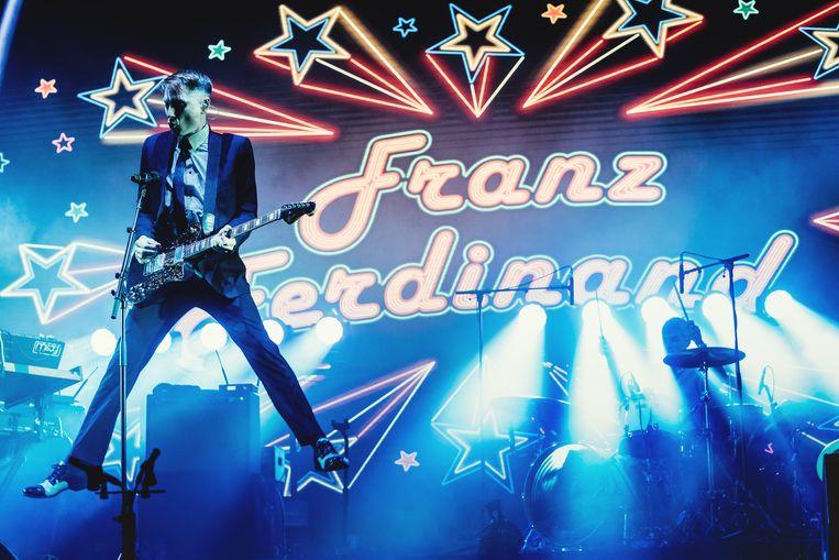 Franz Ferdinand op Pukkelpop 2019. Beeld Stefaan Temmerman