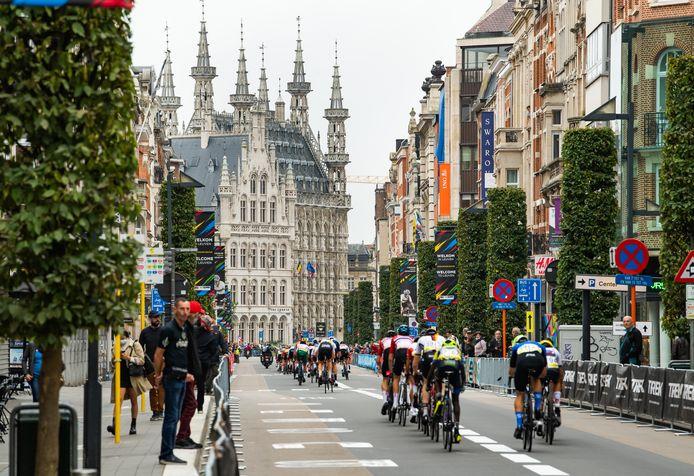Het WK wordt dit jaar in Leuven gereden.