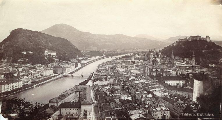 Salzburg, circa 1870. Beeld Getty Images