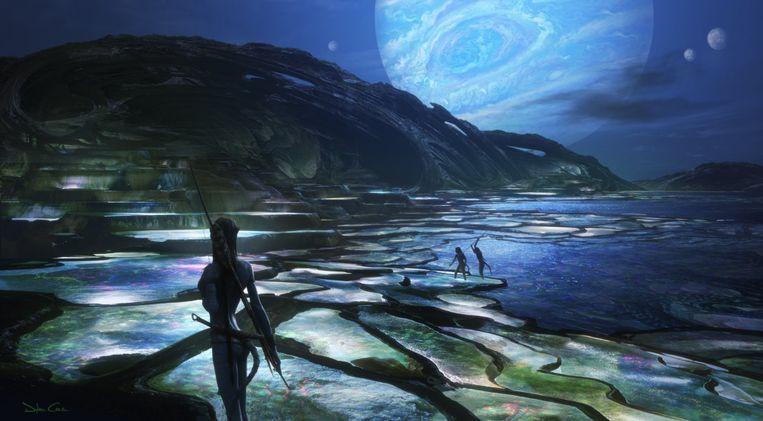 """James Cameron a partagé les premières images conceptuelles de la suite d'""""Avatar""""."""