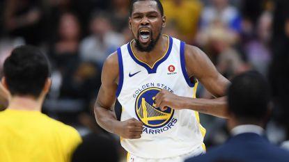 Kevin Durant blijft langer bij kampioen Golden State