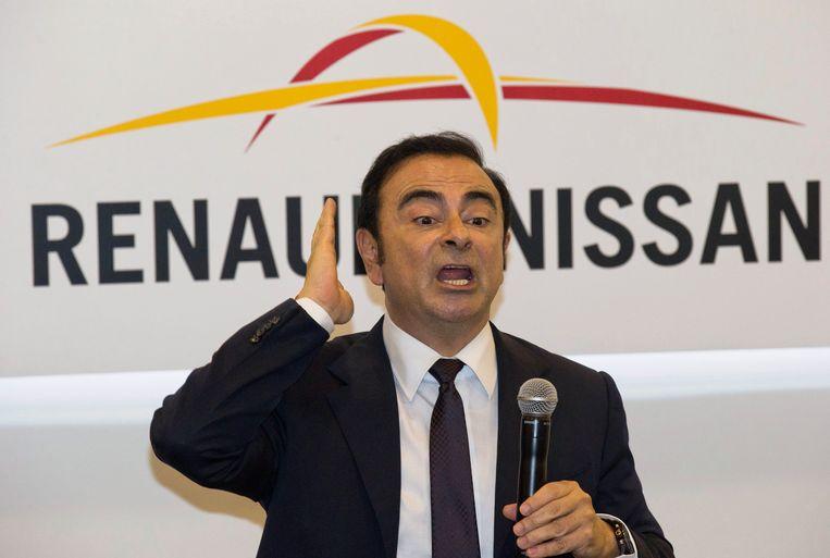 Carlos Ghosn Beeld AP