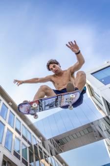 Skateprof Douwe Macaré mag niet naar de Spelen: 'Ergens voel ik me bevrijd'