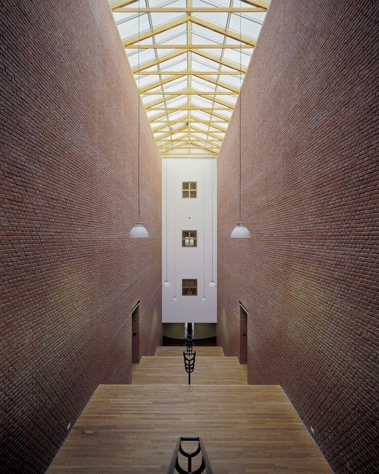 Het Bonnefanten Museum in Maastricht.  Beeld Kim Zwarts