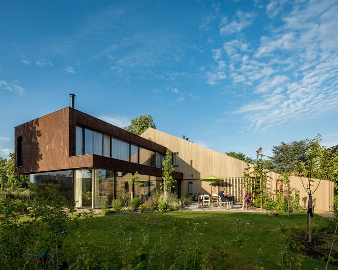 13. Villa F aan de Laauwikstraat in Plantjevlag in Lent Architectenbureau: NEXIT architecten.  Opdrachtgever: M. Flenderie.