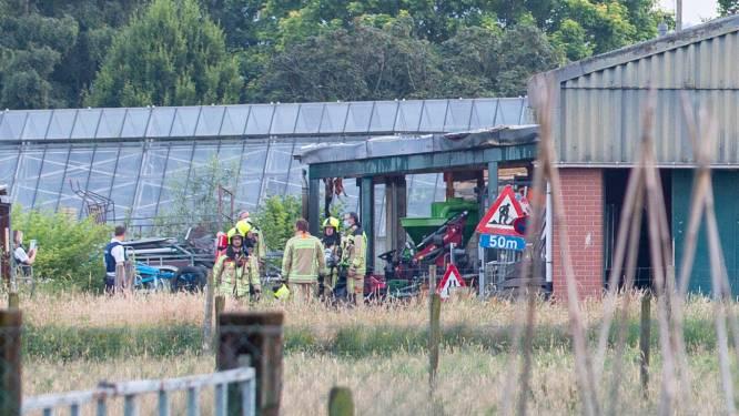 Land- en tuinbouwmachines vatten vuur op terrein van Plattelandscentrum Peerenbosch
