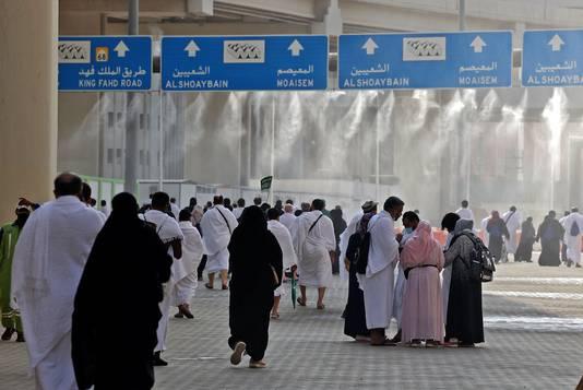 Mina, près de La Mecque
