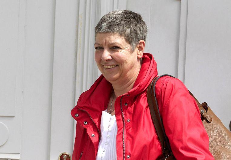 Raymonda Verdyck van het Gemeenschapsonderwijs raadt haar scholen aan de meridiaan of het klasgemiddelde niet langer in de rapporten te vermelden.  Beeld Belga