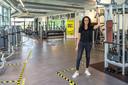 Noura El Ayachi van Nippon the Healthclub in Schoonhoven wil zo snel mogelijk weer open.