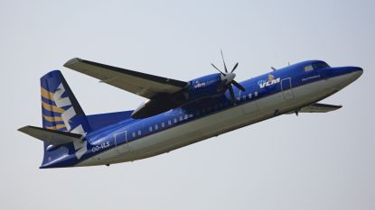 VLM Airlines landt in Oostende