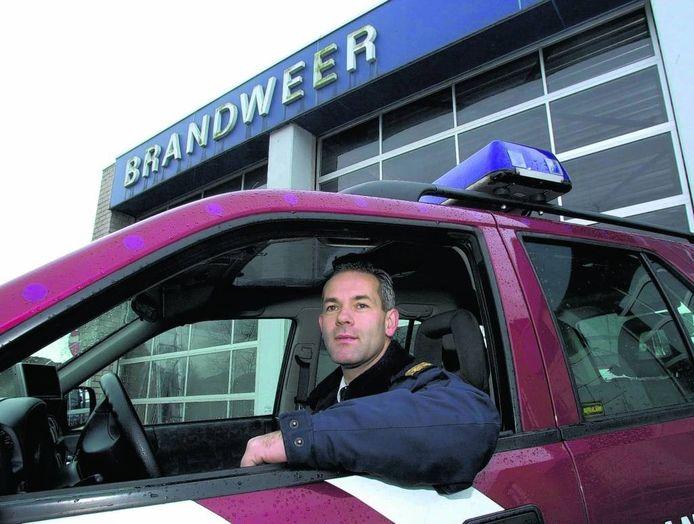 Volgens commandant Corné Hagenaars is de Rucphense brandweer altijd ruimschoots binnen de gestelde normen op tijd. foto A