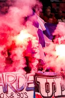 Vuurwerkgooiers bij FC Den Bosch komen wellicht uit België