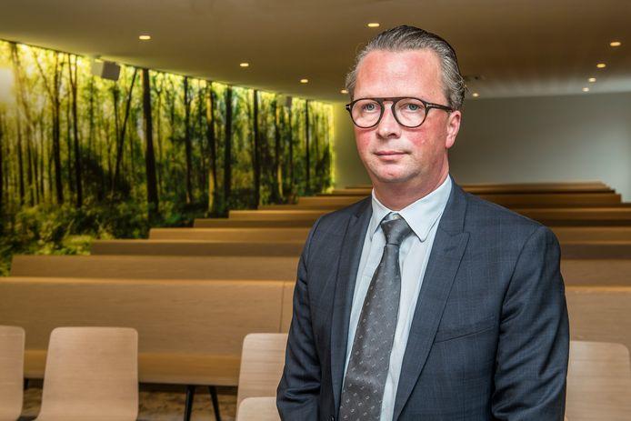 Peter Depoorter won de vorige keer de Guldensporenprijs met zijn Aula De Levensboom.