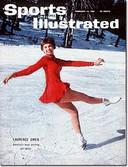 De 16-jarige schaatskampioene Laurence Owen op de cover van 'Sports Illustrated'. Het meisje zat op de Sabenavlucht die neerstortte.