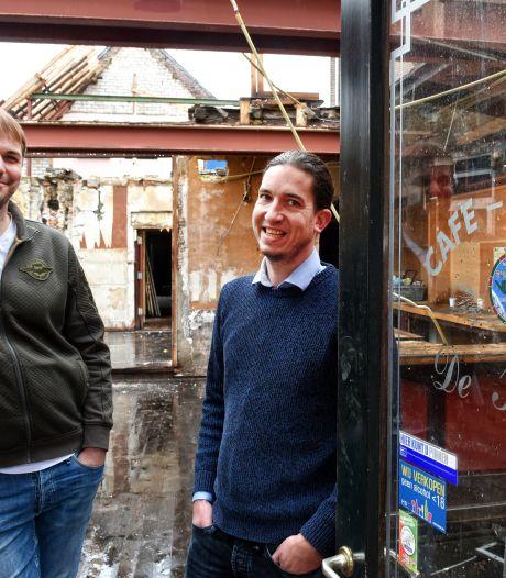 Verbouwing café de Kloek ligt nog steeds stil