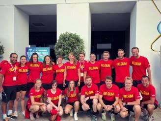 """An-Sophie Mestach in het Belgische team op EK padel: """"Tegen Spanje spelen was een ongelooflijke ervaring"""""""