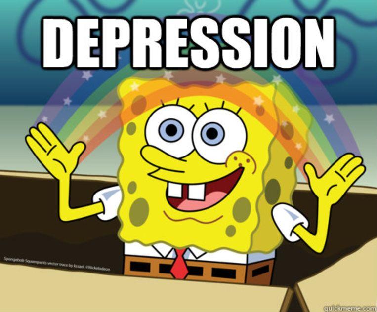 Spongebob-meme. Beeld rv