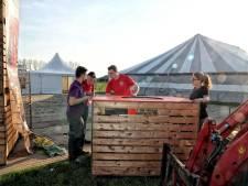 KPJ bouwt twee dagen lang professioneel feestje in de polder bij Moerstraten