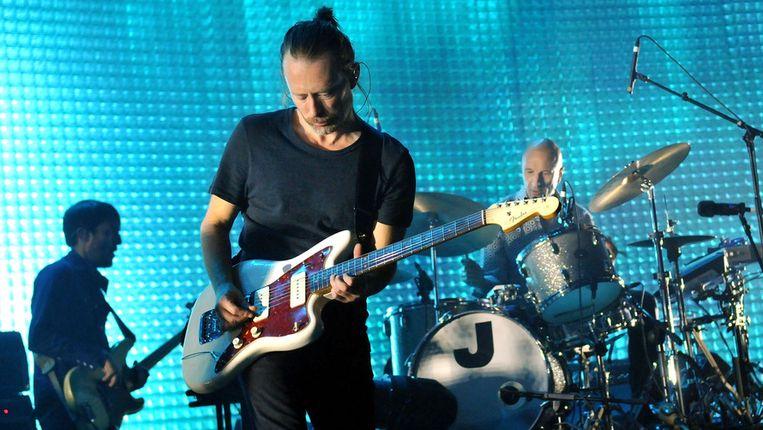 Een nieuw Radiohead-album zit er vanaf eind deze zomer aan te komen, aldus Colin Greenwood. Beeld Getty