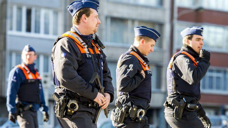 Antwerpen geeft geen cijfers omdat de stad wil vermijden dat daaruit operationele gegevens kunnen afgeleid worden. Beeld AFP