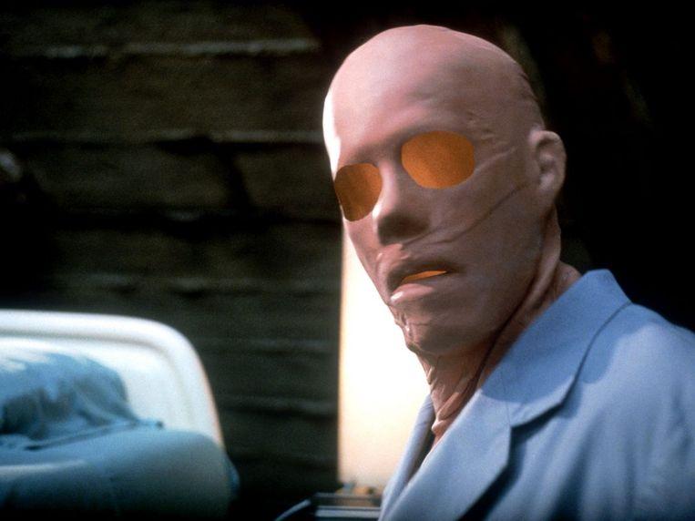 Kevin Bacon in Hollow Man (2000) van Paul Verhoeven. Beeld
