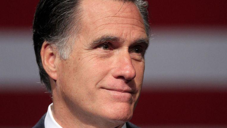 Mitt Romney. Beeld ap