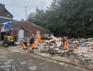 Medewerkers Knokke-Heist terug thuis na week puin ruimen in Trooz