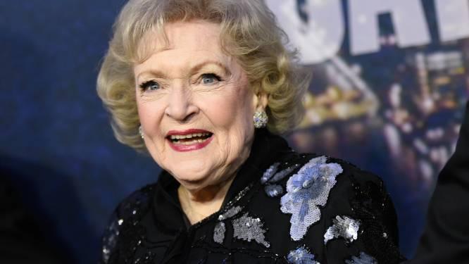 98-jarige Betty White heeft nog een filmrol te pakken