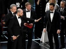 Chaos bij Oscars-ontknoping door fout bij bekendmaking winnaar Beste Film