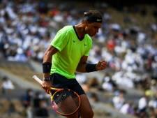 Nadal qualifié pour sa 14e demi-finale à Roland-Garros en lâchant un set contre Schwartzman