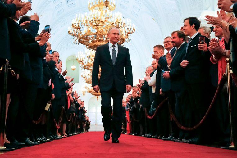 De Russische president Vladimir Poetin. Beeld AFP