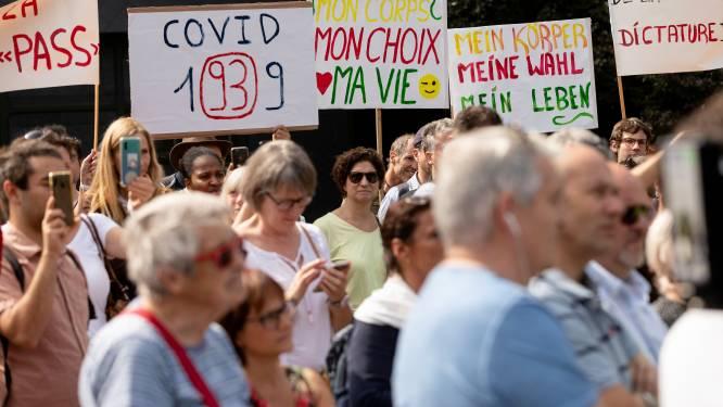Près de 5.000 personnes contre l'obligation vaccinale à Namur