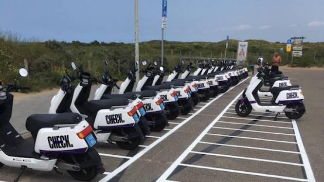 Rotterdam bindt met parkeervakken strijd aan tegen overlast van rondslingerende deelscooters