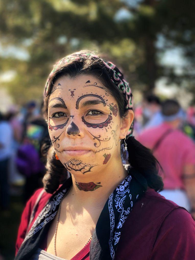 Alejandra Morales (33) heeft twee keer een abortus meegemaakt.  Beeld Chantal Heijnen