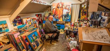 Helmonder Mart Seijkens (71) exposeert voor het eerst in zijn eigen stad