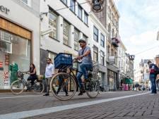 Ondernemers Haagse binnenstad furieus over uitstel fietsverbod: 'Voor ons is de maat vol'