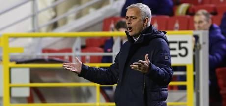 Bergwijn kan het voorlopig schudden bij Mourinho: 'We speelden verschrikkelijk slecht'