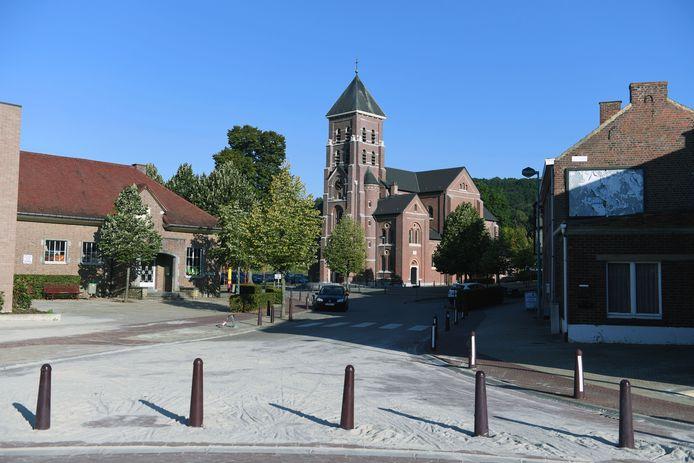 De kerk van Linden is de startlocatie van één van de vijf wandelingen.