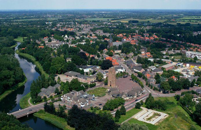 IPTCBron  FLYING CAMERA  SintMichielsgestel Petrus Dondersplein 482002 Luchtfoto: Karel Tomei / Flying Camera