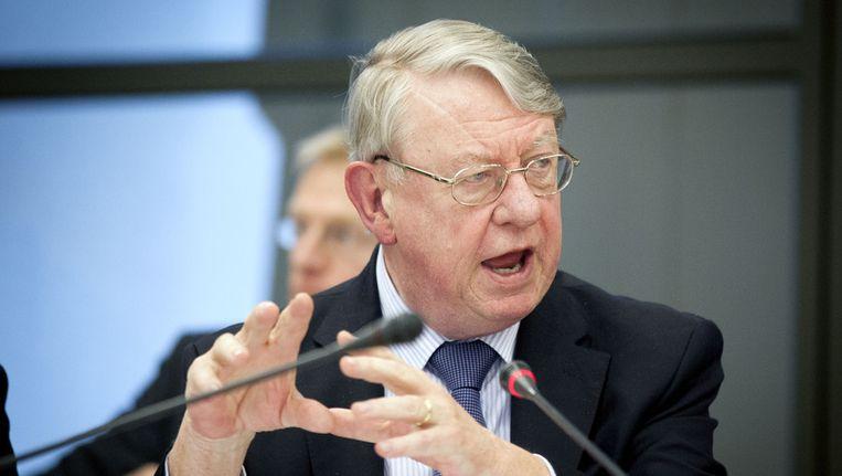 Minister Hans Hillen van Defensie. Beeld ANP